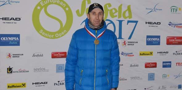 Jörg Herckelrath wird Dritter bei Europameisterschaft!