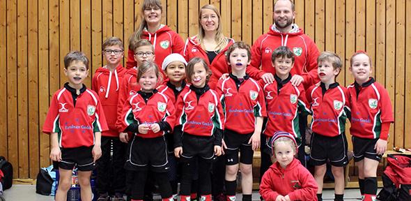 Die Wormser Rugby-Kids überzeugten beim Jugendturnier in Heidelberg.