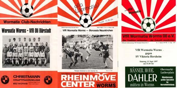646 Stadionzeitungen mit 21663 Seiten