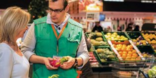 Die beste Obst- und Gemüseabteilung!