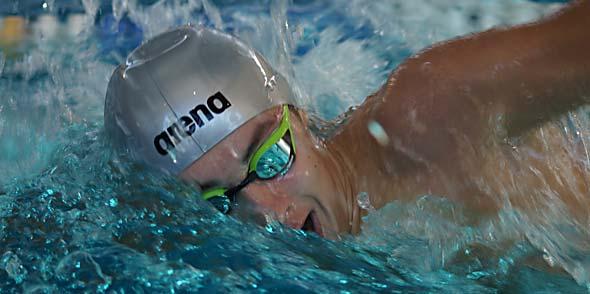 Für Adrian Burg war der Wettkampf in Pirmasens ein sehr großer Erfolg.