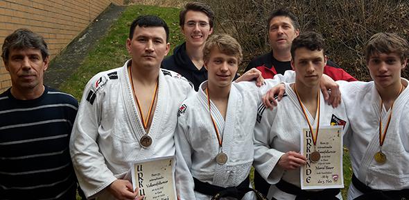 Wormser Judokas beim Vulkaneifel-Turnier