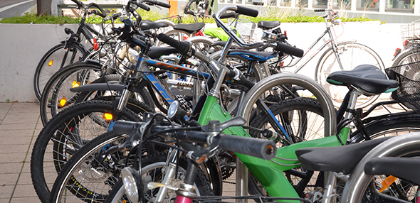 Mit attraktiven Radschnellwege sollen die Menschen zum Umsteigen vom Auto auf das Bike bewegt werden. Foto: Gernot Kirch