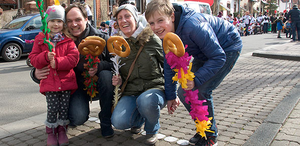 Der verkaufsoffene Sonntag in Grünstadt bietet Abwechslung und Spaß für die ganze Familie. Foto: Robert Lehr
