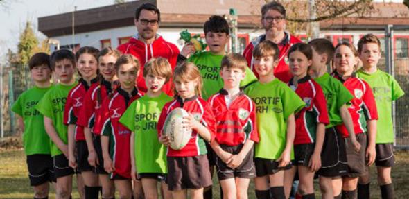Der Wormser Rugby Nachwuchs präsentierte sich beim Turnier in Worms in guter Form.