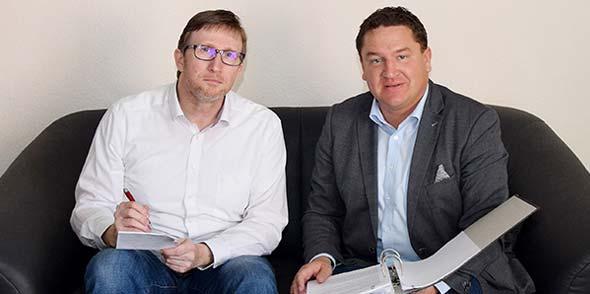 Fakten statt Vorwürfe. Marcus Held im Gespräch mit NK-Redaktionsleiter Steffen Heumann.