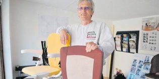 Gisbert Loos verhilft Menschen mit eingeschränkter Mobilität zu mehr Bewegungsfreiheit im eigenen Zuhause. Foto: Steffen Heumann