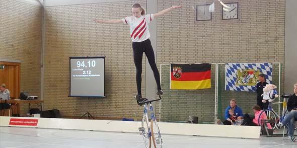 Den Freundschaftswettkampf gewann am Ende das Team mit Luisa aus Rheinland-Pfalz.
