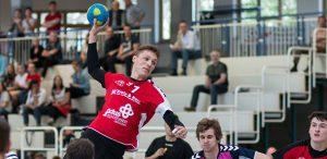 Lukas Klimavicius trug mit zehn Toren zum TGO-Sieg bei. Foto: Moritz Doerr/Die Knipser