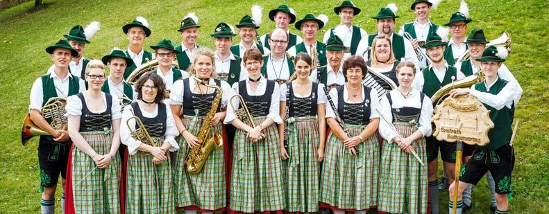 Der Musikverein Grafrath-Kottgeisering wirkt beim Konzert am Freitag mit.