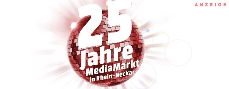 25 Jahre MediaMarkt in der Rhein-Neckar-Region