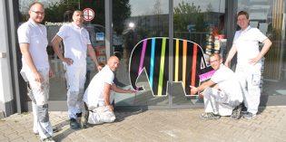 Das Team des Malerbetriebs Reißert steht für Kompetenz, Qualität und eine rasche Auftragserledigung. Foto: Gernot Kirch