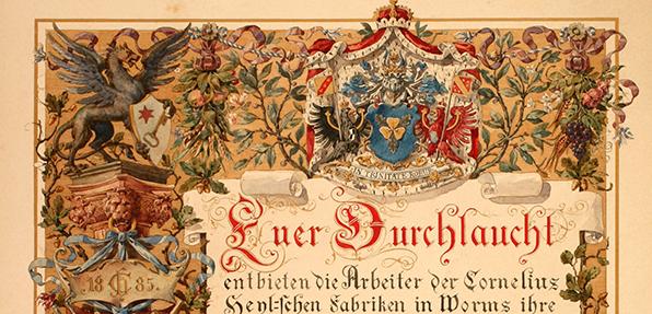 Das Wormser Stadtarchiv konnte ein wichtiges, historisches Dokument erwerben.