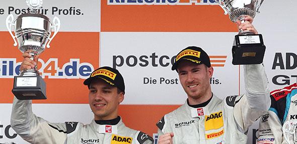Das erfolgreiche Schütz-Motorsport-Duo in Oschersleben.