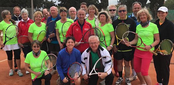 Nach der gelungen Vorbereitung freuen sich die Teilnehmer bereits auf das nächste Tenniscamp.