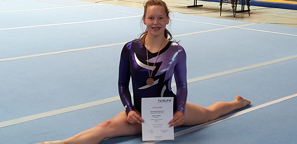 Sophie Schütze überzeugte bei den Rheinland-Pfalz-Meisterschaften