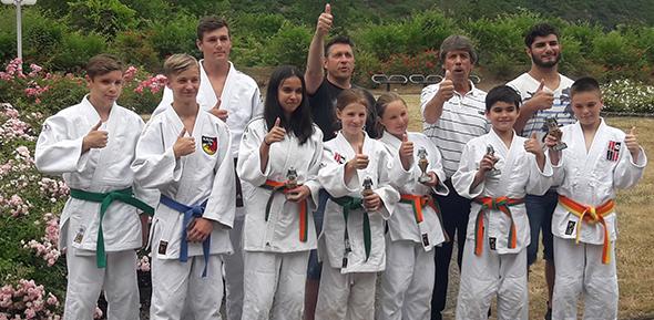 Das Rhein-Ahr-Turnier in Remagen war ein gutes Pflaster für die Wormser Judoka.