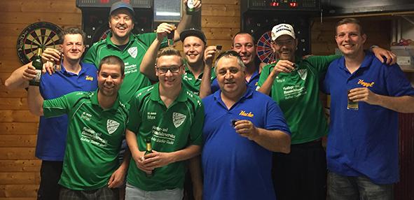 Die Dartspieler aus Ibersheim feiern ihr Erfolge in der Punktrunde zurück.