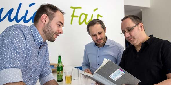 Die persönliche Beratung in Pfeddersheim in unmittelbarer Kundennähe ist eine der Stärken von Energie Berg.