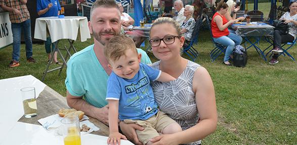 Spaß für die ganze Familie war beim Bürgerfest in Bobenheim-Roxheim angesagt. Foto: Gernot Kirch