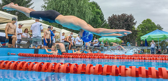 Zahlreiche persönliche Bestzeiten wurden beim Poseidon-Schwimmfest am letzten Wochenende erzielt.