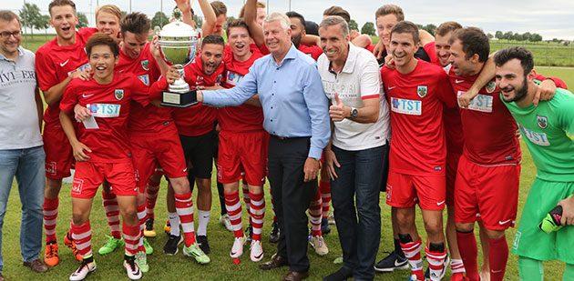 Titelverteidiger bei der am 26. Juni beginnen den 50. Wormser Fußball-Stadtmeisterschaft 2017, ist die 2. Mannschaft des VfR Wormatia Worms, die den dritten Titel in Folge anstrebt. Foto: madi