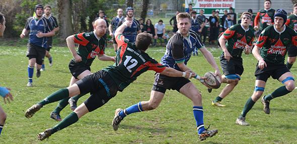 Im Herbst beginnt die neue Saison in den Rugby-Ligen. Auch Worms (grün-rote Trikots) wird wieder zahlreiche Teams stellen. Foto: Gernot Kirch