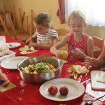 Für die Kinder war der Tag ebenso kurzweilig wie interessant und wohlschmeckend.