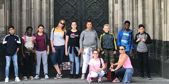Der Ausflug nach Köln und die Besichtigung des Domes war eines der Highlights im Sommerferienprogramm der Spiel- und Lernstube.