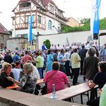 Das Kellerwegfest in Guntersblum ist eines der schönsten Weinfeste in Rheinhessen.