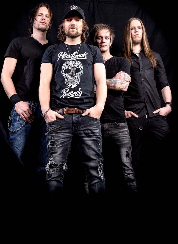 """""""The New Roses"""" gelten derzeit als die beste deutsche Hard-Rock-Band. Foto: Stephen Porteous"""