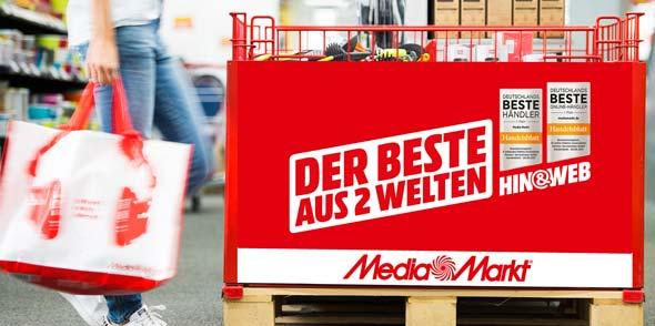 MediaMarkt weiß sowohl im stationären wie auch im digitalen Handel voll zu überzeugen.