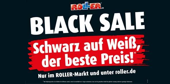 Kunden können sich auf wöchentlich wechselnde BLACK SALE-Knüller freuen.