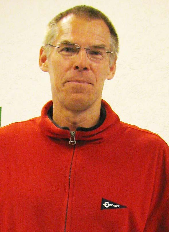 Udo Christiansen wurde in seiner Altersklasse 55 Südwestdeutscher Meister.