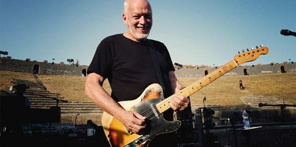 BU: Diese Sondervorstellung mit David Gilmour wird in echter 4K-Projektion und bestem Intense 3D-Surround Sound gezeigt. Ein echtes Highlight nicht nur für Pink Floyd-Fans! Foto: Sarah Lee