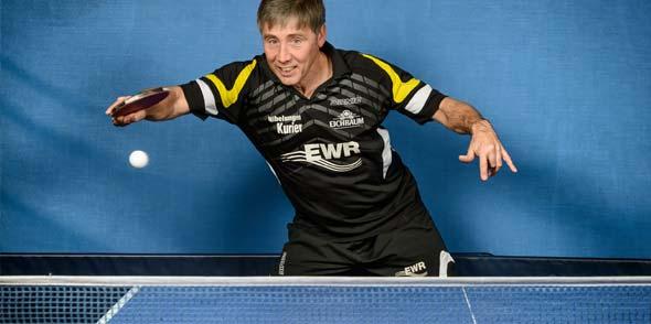 Sorgt mit seiner positiven Ausstrahlung und freundlichen Art für viel gute Laune in der Kreisliga-Truppe des TV Leiselheim: Helmut Sonnenberg, die Nummer zwei der TVL-Sechsten.