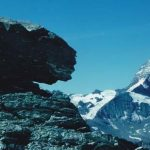 Das Mettelhorn ein beliebter Aussichtsberg mit Panorama auf die Berge um den Zermatter Talkessel: vor allem wie hier das Matterhorn.