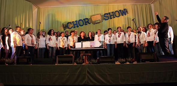 Den Besuchern in der Abenheimer Festhalle wurde eine tolle und abwechslungsreiche Show geboten. Foto: J.Bömicke