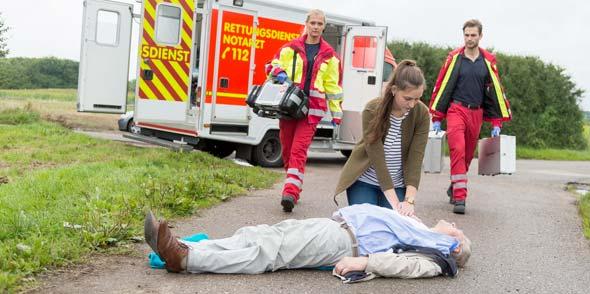 Im Ernstfall zählt jede Sekunde, bis der Rettungsdienst vor Ort ist!
