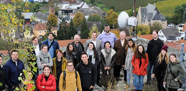 Vor-Ort-Termin auf dem Schill-Turm in Osthofen.  Fotos: Mirco Metzler/Die Knipser