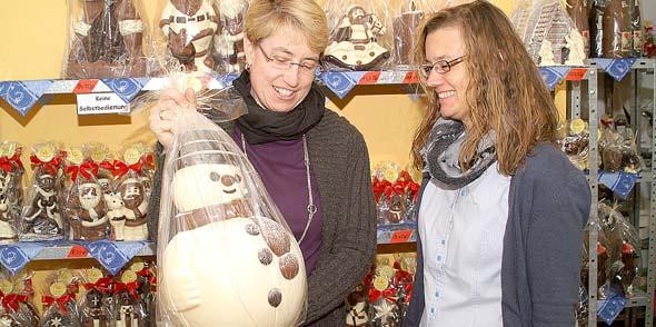 Ob Schneemann, Nikolaus oder Weihnachtskrippe – lecker sind sie in der Horchheimer Scheune alle.