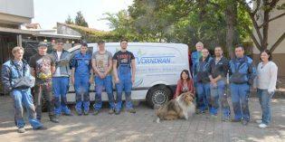 Das qualifizierte Team der August Vorndran GmbH um Inhaberin Annette Nagel-Rolzhäuser ist freundlich, kompetent und immer erreichbar. Foto: Gernot Kirch