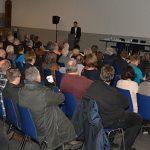 Die Info-Veranstaltung des LBM am Montagabend im Kesselhaus war gut besucht. Foto: Gernot Kirch