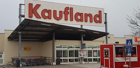 Schließt 2019 seine Pforten: Kaufland in Lampertheim-Rosengarten. Foto: Benjamin Kloos