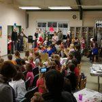 Die Nikolausfeier beim WSV begeisterte Kinder, Jugendliche und Erwachsene gleichermaßen .