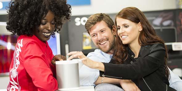 Was immer auf der Wunschliste steht: Bei MediaMarkt findet man es – mit kompetenter Beratung und tollem Service.