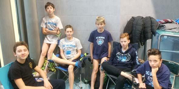 Die Wormser C-Jugend der Männer erreichte am Ende einen siebten Platz.