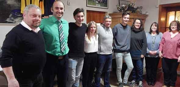 Bei der Weihnachtsfeier des SV Leiselheim galt es neben der Mitgliederehrung auch den vielfältig engagierten Ehrenamtlichen im Verein Dank zu sagen.