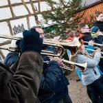 Das Rahmenprogramm ist ein zentraler Bestandteil des Weihnachtsmarktes in Rheindürkheim.
