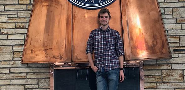 Jonas Deichelmann, Informatikstudent der Hochschule Worms und erfolgreicher Preisträger beim Start-Up Hackathons.